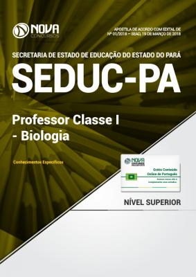 Apostila SEDUC-PA - Professor Classe I - Biologia