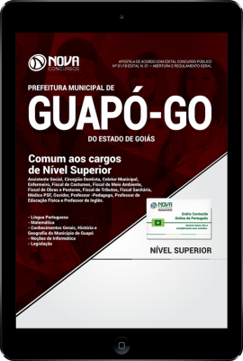 Download Apostila Prefeitura de Guapó - GO - Comum aos Cargos de Nível Superior (PDF)