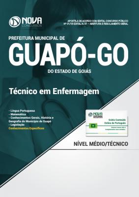 Apostila Prefeitura de Guapó - GO - Técnico em Enfermagem