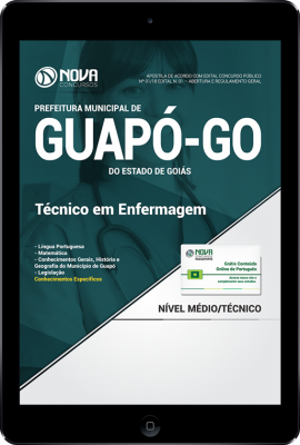 Download Apostila Prefeitura de Guapó - GO - Técnico em Enfermagem (PDF)