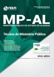 Apostila MP-AL - Técnico do Ministério Público