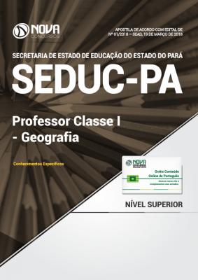 Apostila SEDUC-PA - Professor Classe I - Geografia