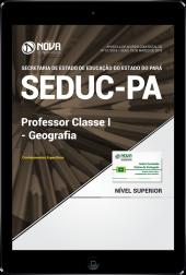 Download Apostila SEDUC-PA - Professor Classe I - Geografia (PDF)