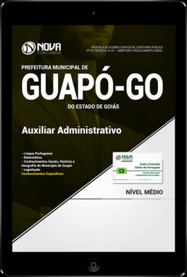 Download Apostila Prefeitura de Guapó - GO - Auxiliar Administrativo (PDF)