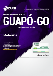 Apostila Prefeitura de Guapó - GO - Motorista