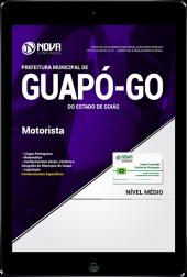 Download Apostila Prefeitura de Guapó - GO - Motorista (PDF)