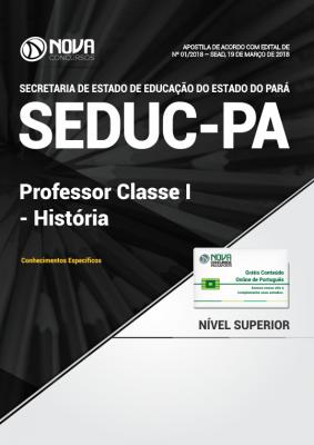 Apostila SEDUC-PA - Professor Classe I - História