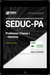 Download Apostila SEDUC-PA - Professor Classe I - História (PDF)