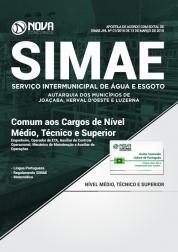 Apostila SIMAE-SC - Comum aos Cargos Médio, Técnico e Superior
