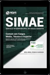 Download Apostila SIMAE-SC - Comum aos Cargos Médio, Técnico e Superior (PDF)