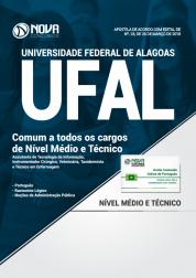 Apostila UFAL - Comum Nível Médio e Técnico