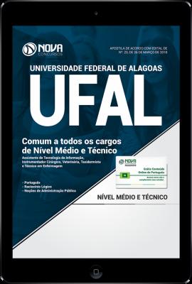 Download Apostila UFAL - Comum Nível Médio e Técnico (PDF)