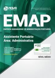 Apostila EMAP - MA - Assistente Portuário - Área: Administrativa
