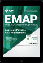 Download Apostila EMAP - MA - Assistente Portuário - Área: Administrativa (PDF)