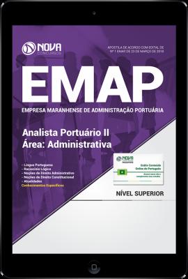 Download Apostila EMAP - MA - AnalistaPortuárioII-Área:Administrativa (PDF)
