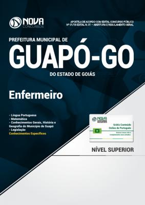 Apostila Prefeitura de Guapó - GO - Enfermeiro