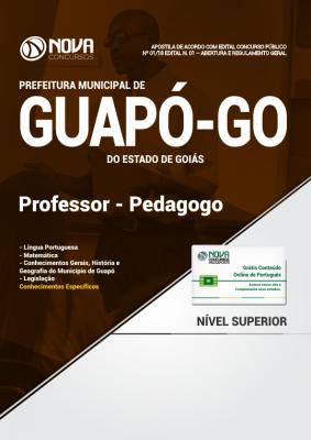 Apostila Prefeitura de Guapó - GO - Professor - Pedagogo