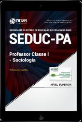 Download Apostila SEDUC-PA - Professor Classe I – Sociologia (PDF)