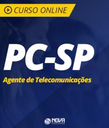Curso Policia Civil SP - Agente de Telecomunicações Policial