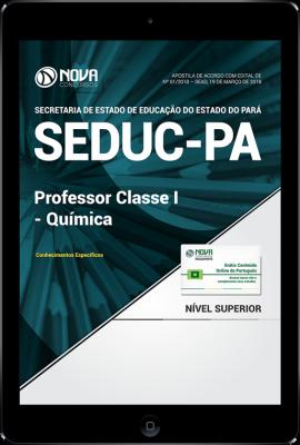 Download Apostila SEDUC-PA - Professor Classe I - Química (PDF)