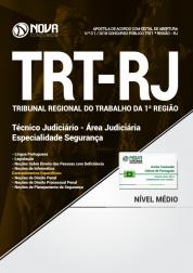 Apostila TRT-RJ (1ª Região) - Técnico Judiciário - Área Administrativa - Especialidade Segurança