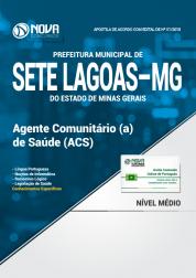 Apostila Prefeitura de Sete Lagoas - MG - Agente Comunitário (a) de Saúde (ACS)