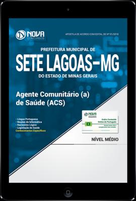 Download Apostila Prefeitura de Sete Lagoas - MG - Agente Comunitário (a) de Saúde (ACS) (PDF)