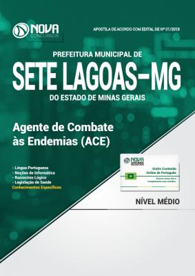 Apostila Prefeitura de Sete Lagoas - MG - Agente de Combate às Endemias (ACE)
