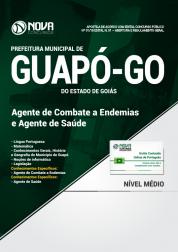Apostila Prefeitura de Guapó - GO - Agente de Combate a Endemias e Agente de Saúde