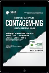 Download Apostila Prefeitura de Contagem - MG - Pedagogo e Professor de Educação Básica (PEB 1 e PEB 2) (PDF)