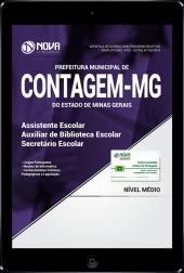 Download Apostila Prefeitura de Contagem - MG - Assistente Escolar, Auxiliar de Biblioteca e Secretário Escolar (PDF)