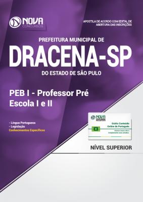Apostila Prefeitura de Dracena - SP - PEB I - Professor Pré Escola I e II