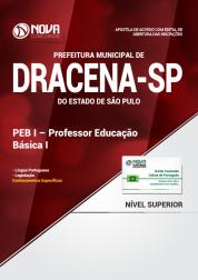 Apostila Prefeitura de Dracena - SP - PEB I - Professor Educação Básica I