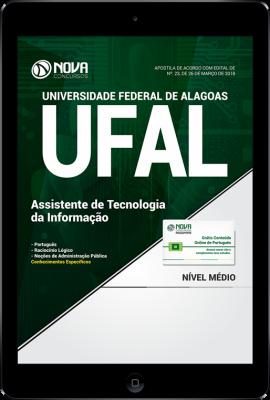 Download Apostila UFAL - Assistente de Tecnologia da Informação (PDF)