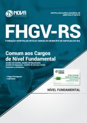 Apostila FHGV - RS - Comum aos Cargos de Nível Fundamental