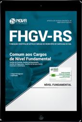 Download Apostila FHGV - RS - Comum aos Cargos de Nível Fundamental (PDF)