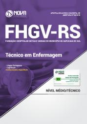 Apostila FHGV - RS - Técnico em Enfermagem