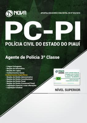 Apostila PC-PI - Agente de Polícia 3ª Classe