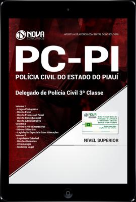 Download Apostila PC-PI - Delegado de Polícia Civil 3ª Classe (PDF)