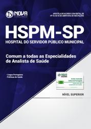 Apostila HSPM-SP - Comum a todas as Especialidades de Analista de Saúde