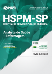 Apostila HSPM-SP - Analista de Saúde - Enfermagem