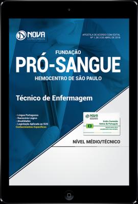Download Apostila HEMOCENTRO - SP - Técnico de Enfermagem (PDF)