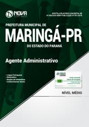 Apostila Prefeitura de Maringá - PR - Agente Administrativo