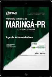 Download Apostila Prefeitura de Maringá - PR - Agente Administrativo (PDF)