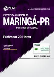 Apostila Prefeitura de Maringá - PR - Professor 20 Horas