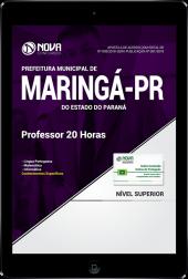 Download Apostila Prefeitura de Maringá - PR - Professor 20 Horas (PDF)