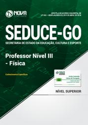 Apostila SEDUCE - GO - Professor Nível III - Física