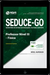 Download Apostila SEDUCE - GO - Professor Nível III - Física (PDF)