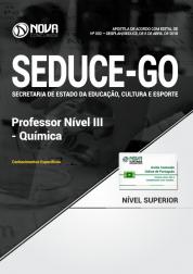 Apostila SEDUCE - GO - Professor Nível III - Química
