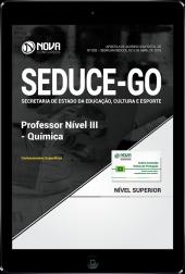 Download Apostila SEDUCE - GO - Professor Nível III - Química (PDF)